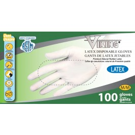 01370-01373 Viking® Latex Disposable Gloves