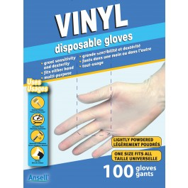 34000 Phthalate-Free Vinyl Disposable Gloves