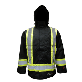 3907FRWJ Viking Professional® Insulated Journeyman 300D Trilobal  Rip-Stop FR Jacket