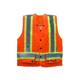 3995FRO Viking Professional® Journeyman 300D Trilobal Rip-stop  FR Surveyor Vest