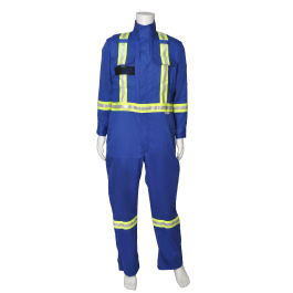 40677 Viking® Firewall FR® CSA Striped Coveralls 7 oz.