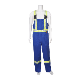 41679 Viking® Firewall FR® CSA Striped Bib Overalls