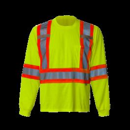 6010G Viking® Safety Long Sleeve Shirt