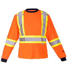 6015O Viking® Safety Cotton Lined Long Sleeve Shirt