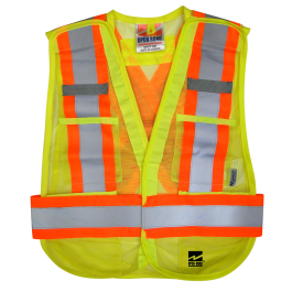6115G Open Road® 5pt. Tear Away Vest