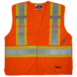 6135O Viking® 5pt. Tear Away Safety Vest