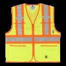 6112G Open Road® Zipper Safety Vest