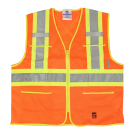 6112O Open Road® Zipper Safety Vest
