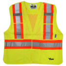 6125G Viking® 5pt. Tear Away Safety Vest