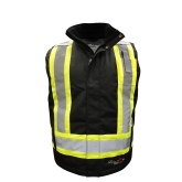 3995FRW Viking Professional® Insulated Journeyman 300D Trilobal Rip-Stop FR Vest