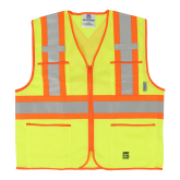 6112G Open Road® Zipper Safety Vest