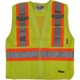 6135G Viking® 5pt. Tear Away Safety Vest