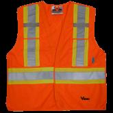 6135O Viking® 5pt. Tear Away Safety Vest
