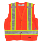 6160O Viking® Tall Safety Vest