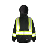 6421BK Viking® Cotton-Lined Safety Hoodie