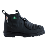 "E5617 Tatra 6"" Black Slip-on Leather Welders Gaiter Safety Boots"