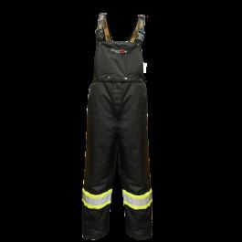 3907FRWP Viking Professional® Insulated Journeyman 300D Trilobal  Rip-Stop FR Bib Pants