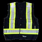 6160BK Viking® Tall Safety Vest