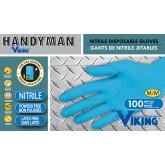 34603 Viking Handyman® Nitrile Disposable Gloves