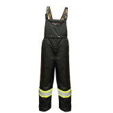 3907FRWP Viking Professional® Insulated Journeyman 300D Trilobal  Rip-Stop FR Bib Pants