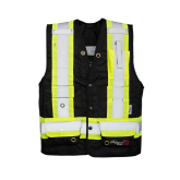 3995FR Viking Professional® Journeyman 300D Trilobal Rip-stop  FR Surveyor Vest