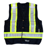 6160BK Viking® Tall Safety Vest