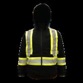 6420BK Viking® Safety Fleece Hoodie