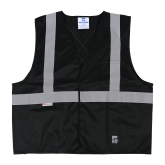 U6106BK Open Road® Solid Safety Vest