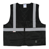 U6109BK Open Road® Solid Safety Vest