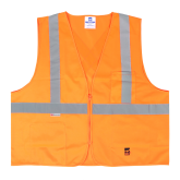 U6109O Open Road® Solid Safety Vest