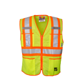 U6112G Open Road® Zipper Safety Vest