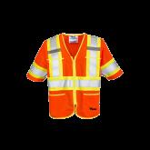 U6155O Viking® Class 3 Safety T-Vest